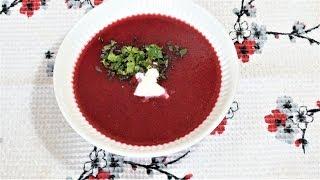 Свекольный суп с овсянкой. Диета, 👍Худеем вкусно.
