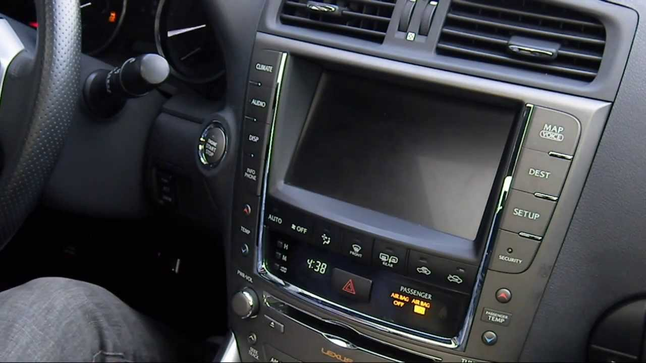 2012 Lexus IS 250 F Sport With Navigation   YouTube