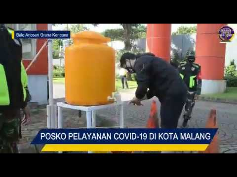 Masuk ke kota Malang wajib transit ke Posko pencegahan COVID-10