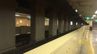 【外幌付の5000形離合】札幌市営地下鉄南北線 516編成・517編成 北34条駅 発着
