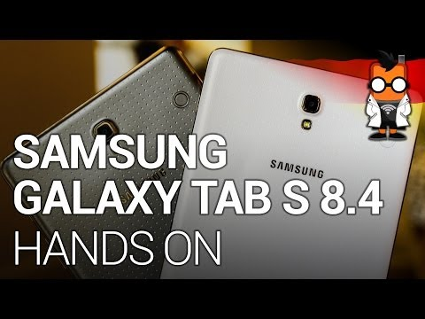 Samsung Galaxy Tab S 8.4 Hands On [DEU]