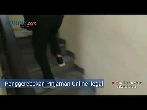 Video Detik Detik Penggerebekan Kantor Pinjaman Online Ilegal Di