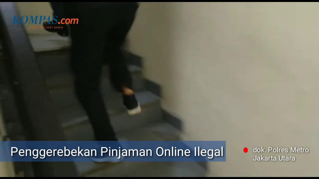 Detik Detik Penggerebekan Pinjaman Online Ilegal Di Pluit Youtube
