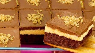 Воздушный, нежный и всегда вкусный! Шоколадный торт с заварным кремом!   Appetitno.TV