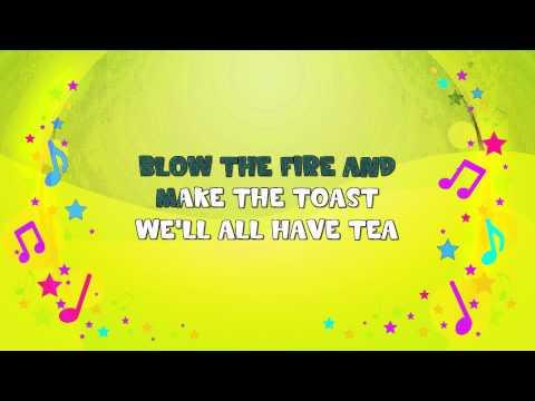 Polly Put the Kettle On | Karaoke | Nursery Rhyme | KiddieOK