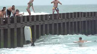 Video Some guy learning to surf on the wrong day download MP3, 3GP, MP4, WEBM, AVI, FLV Agustus 2017