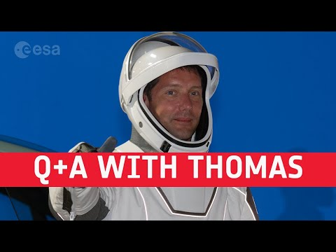 Pre-launch media Q+A with astronaut Thomas Pesquet [in English and French]