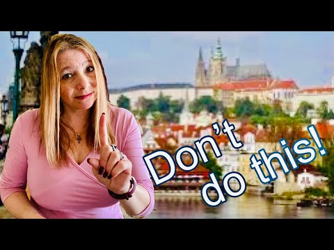 10 things NOT to do when visiting Czech Republic