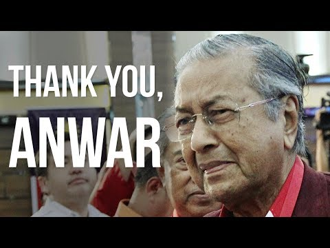 Tun M pays tribute to Anwar and his family for their Reformasi sacrifices