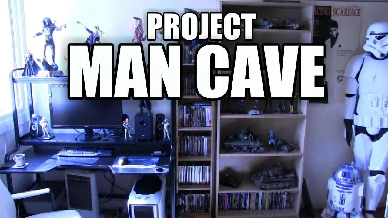 man cave. Man Cave