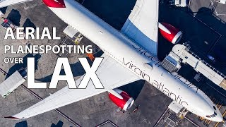 AERIAL PLANESPOTTING OVER LAX with Star Helicopters!