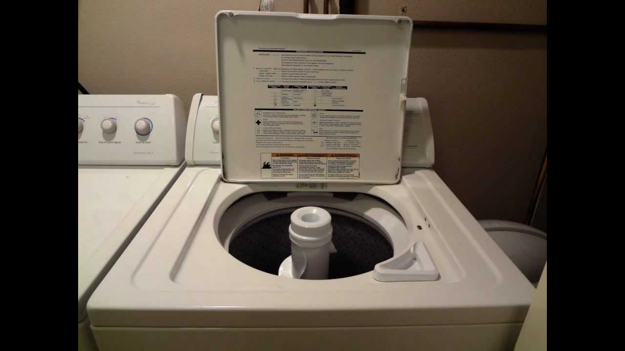 pictures of whirlpool washer and dryer ultimate care ii series youtube