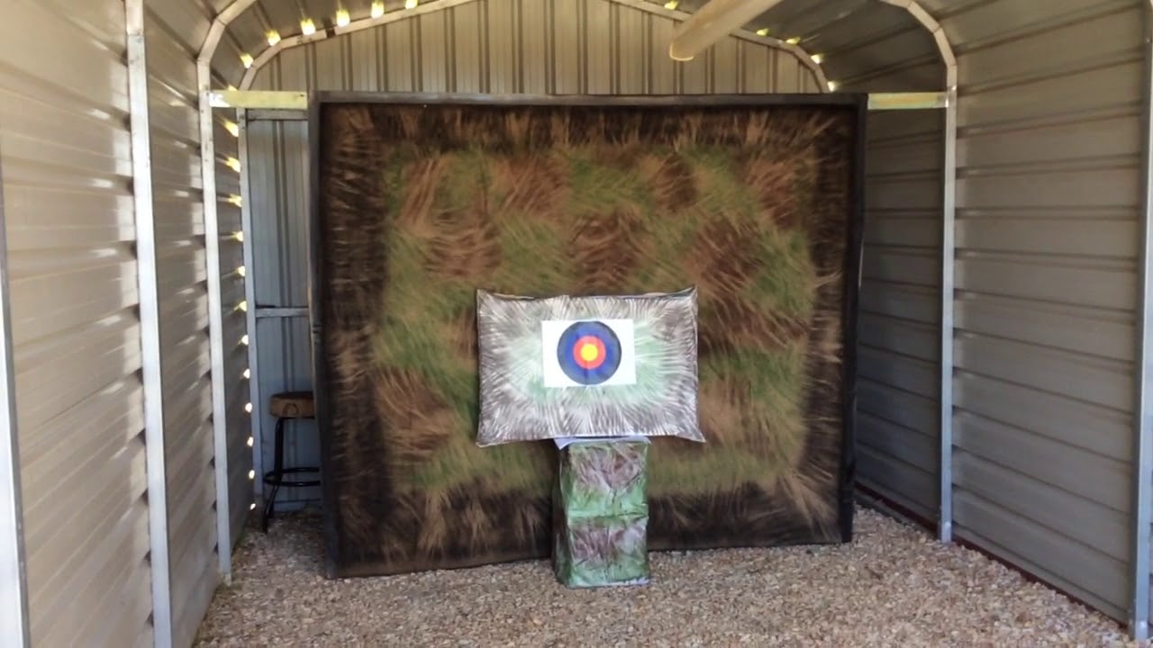 Archery Backstop Home Made From Carpet Under 50 Youtube