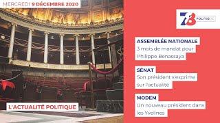 7/8 Politique. Emission du 9 décembre 2020