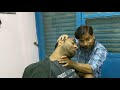Head, neck & hand massage by biswajit barber | Ultimate relaxation Indian Style | ASMR