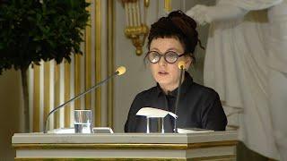 Nobel Lecture: Olga Tokarczuk, Nobel Prize in Literature 2018