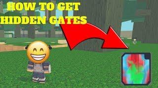 NRPG: BEYOND HOW TO GET HIDDEN GATES!!! [ROBLOX]