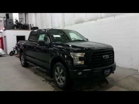 "2017 Ford F-150 Supercrew XLT Sport W/ 20"" Wheels, Black ..."