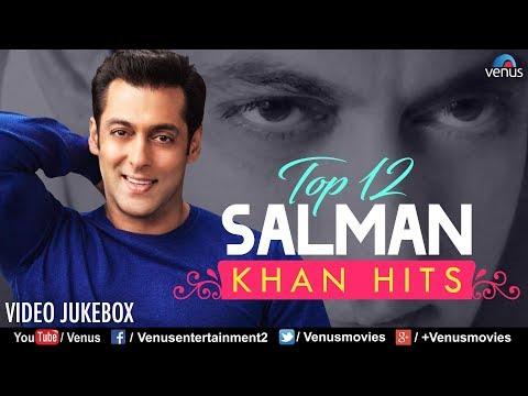 Top 12 Salman Khan Hits | Best Bollywood Romantic Songs | VIDEO JUKEBOX | 90's Best Hindi Songs