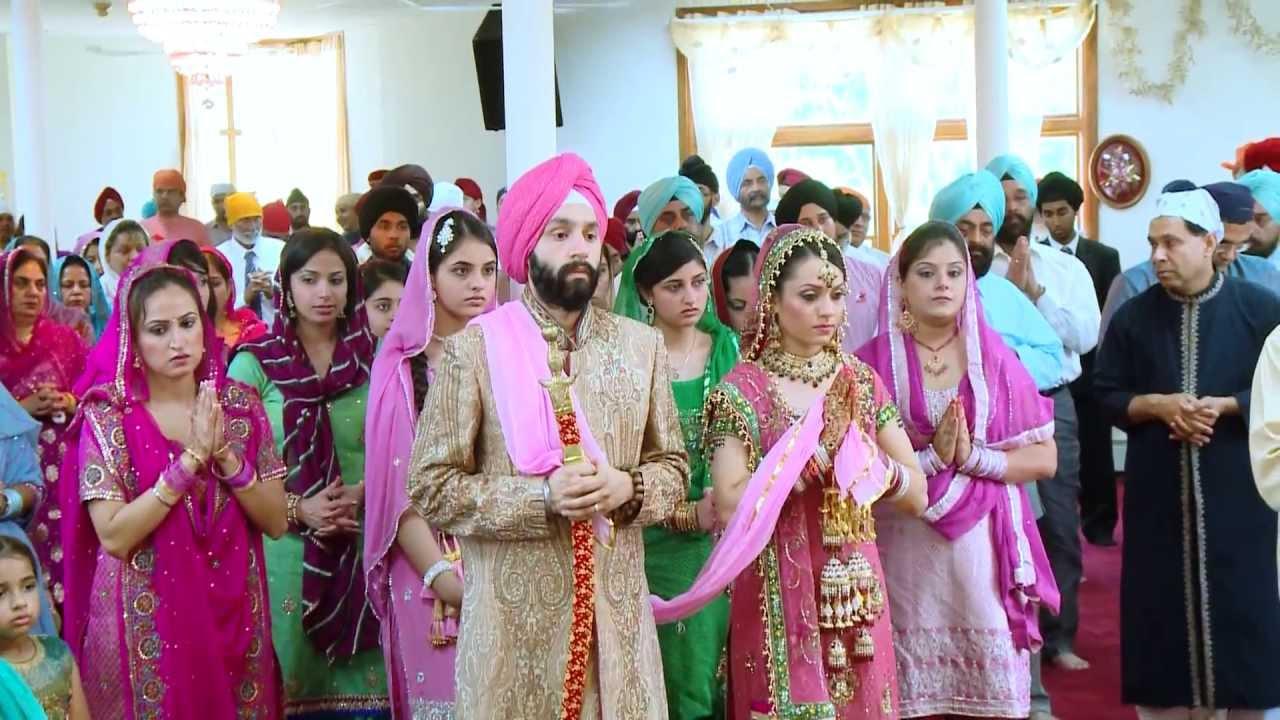 Tania Manpreet Sikh Wedding Ceremony Anand Karaj