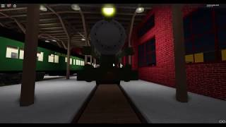 BLW 26 Pulling into the Sheds for the Night! (Roblox Robloxian Pass Scenic Railroad)