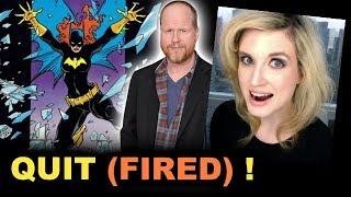 Joss Whedon FIRED from Batgirl Movie