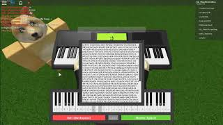 Roblox Virtual Piano - Despacito - Luis Fonsi [sheets in desc]