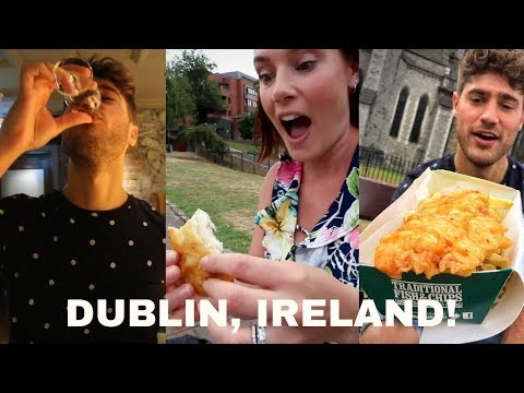 Dublin, Ireland Food And Drink Crawl! Famous Fish N' Chips, Jameson, Howth! DEVOUR POWER