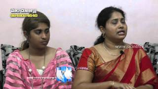 Blessed family Programme - Jacinth Tv - Interview with Swarn...