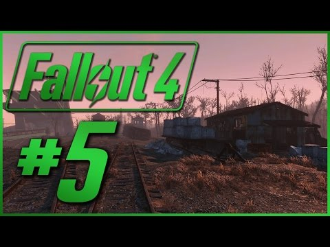 """The Unraveling of Zed in the Wasteland #5 - """"Bedford (infe)Station"""" - Fallout 4"""