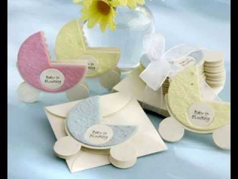 DIY Baby shower invitation wording decor ideas - YouTube