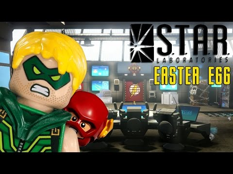 Lego Dimensions THE FLASH CW Star Labs + Green Arrow Gameplay