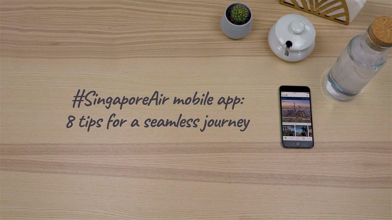 SingaporeAir mobile app