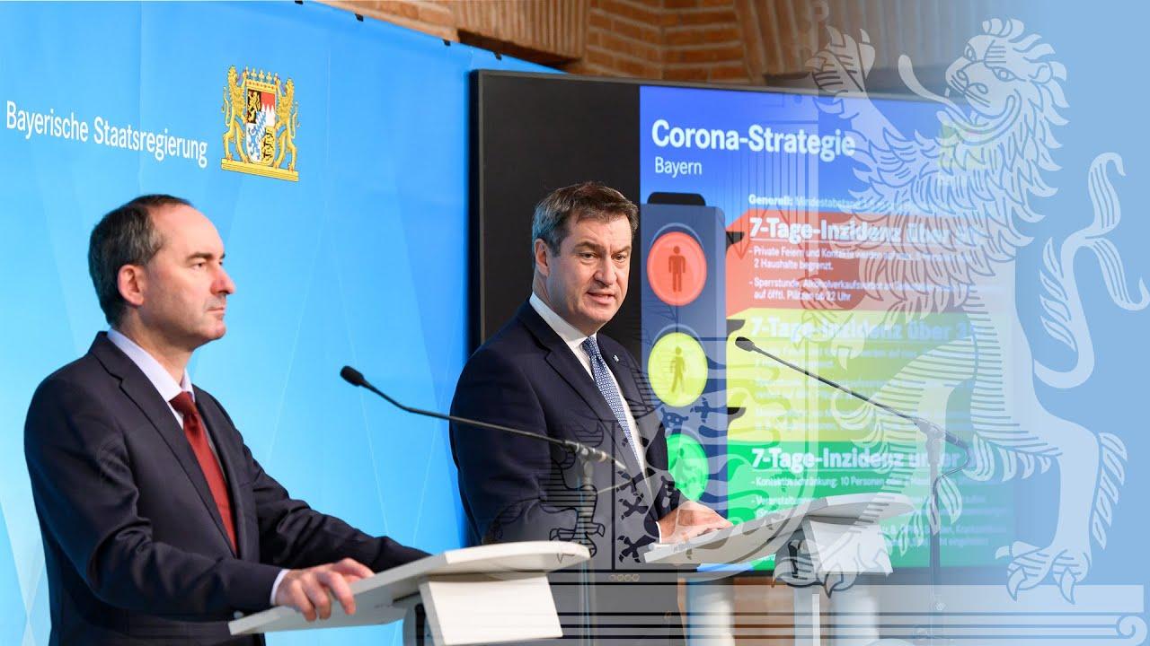 Video in Gebärdensprache: Pressekonferenz zur weiteren Corona-Strategie (15.10.20) - Bayern