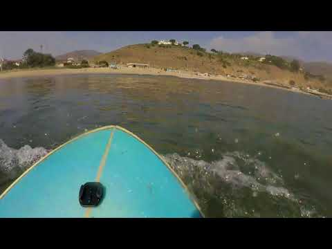 A day of surf in Malibu | October 2017