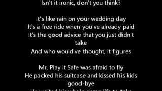 Alanis Morissette - Ironic - Lyrics Rolling