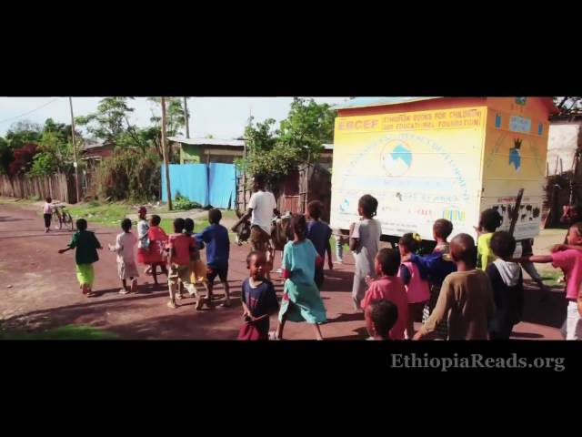 Ethiopia Reads - Donkey Mobile Libraries