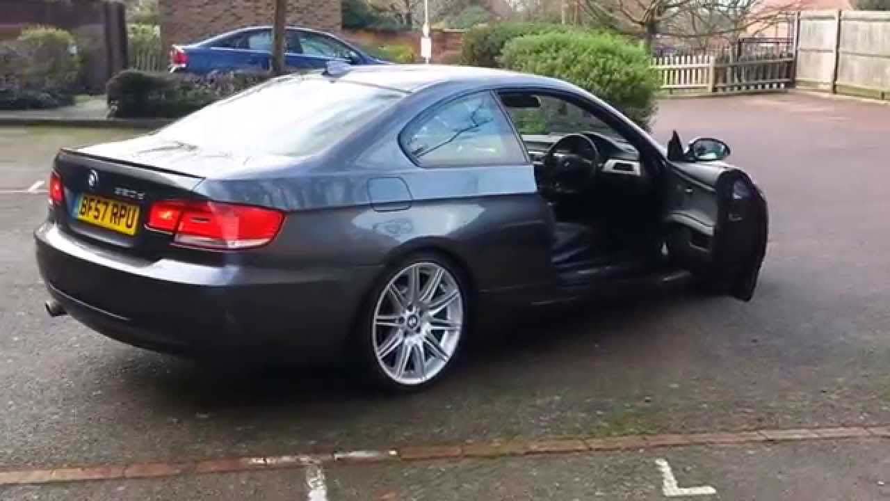 bmw 320d e92 m sport coupe youtube. Black Bedroom Furniture Sets. Home Design Ideas