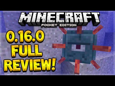 MCPE 0.16.0 FULL REVIEW - Minecraft Pocket Edition 0.16.0 Update New Blocks, Mobs (Pocket Edition)