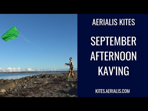 September Afternoon KAV'ing - Too Light Winds for the Gimbal