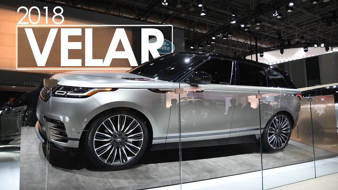 Popular Range Rover Velar  First Look Amp Review  2017 New York