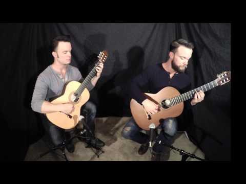 Nuvole Bianche by Ludovico Einaudi - The Bassett Bros. (Guitar)