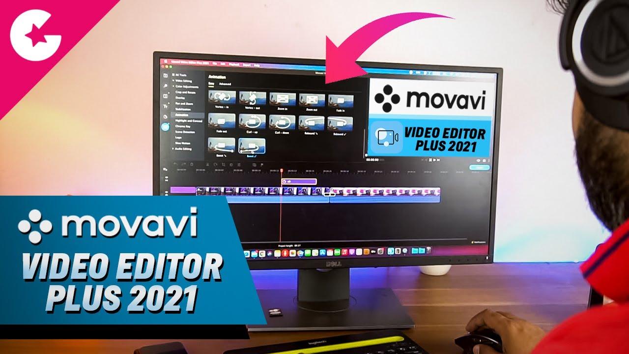 Movavi Video Editor Plus 2021 Crack