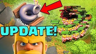 TORNADO TRAP!  UPDATE SNEAK PEEK #1 Halloween 2018 Clan War Leagues Clash of Clans