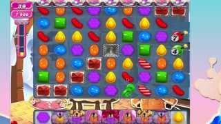Candy Crush Saga Level 827 LOTS OF BOMBS VERY HARD!