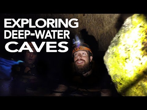 Exploring Deep Water Caves!