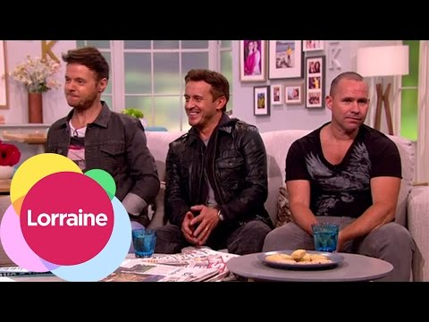 911 On Their New Tour | Lorraine