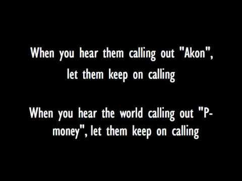 Akon-Keep On Calling Lyrics