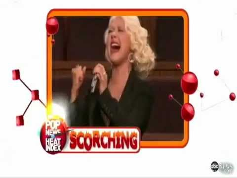 Media praising Christina Aguilera's