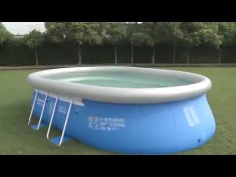 Owalne baseny rozporowe oval fastset bestway - Piscine fuori terra san marco ...
